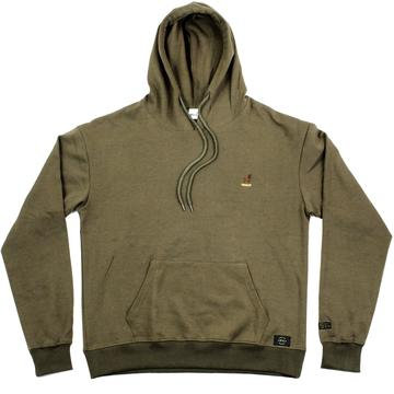 BUCK EMBROIDERED HOODIE