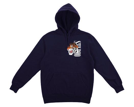 Tiger - Hoodie - Navy