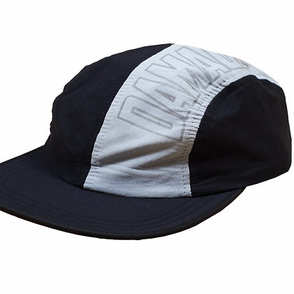 4 PANEL TECH CAP Black