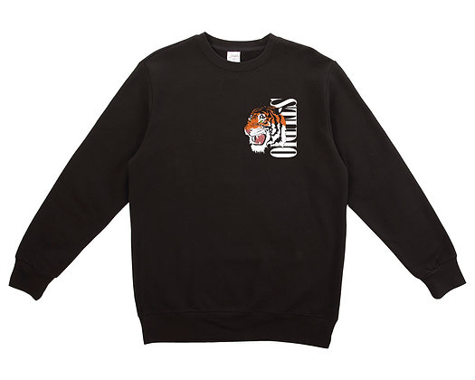 Tiger - Crewneck - Black