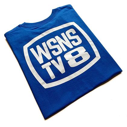 WSNS TV8 Heavyweight Tee