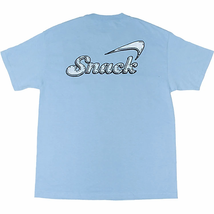 Alive Glass tee powder blue