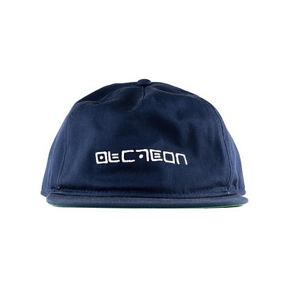 Cipher Logo 5 Panel Unstructured Snapback - Navy