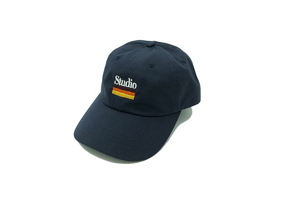 Mellow Stripes - Dad Hat - Navy