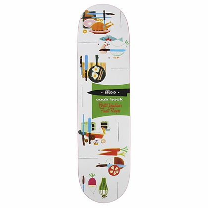 Weinstein Cook Book - Skateboard