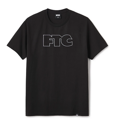 FTC OG OUTLINE TEE BLACK