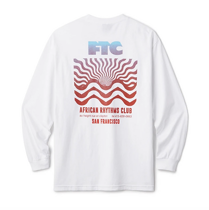 FTC AFRICAN RHYTHMS CLUB L/S TEE White