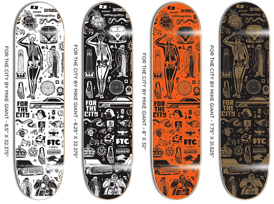 FTC X MIKE GIGANTE DECK