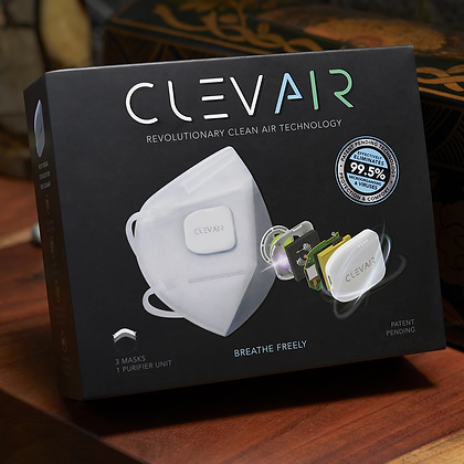 CLEVAIR Mask - 3 pack