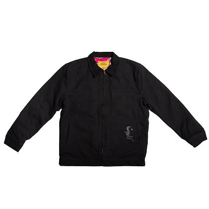 Korean Work Jacket Black