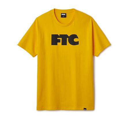 FTC OG LOGO TEE GOLD