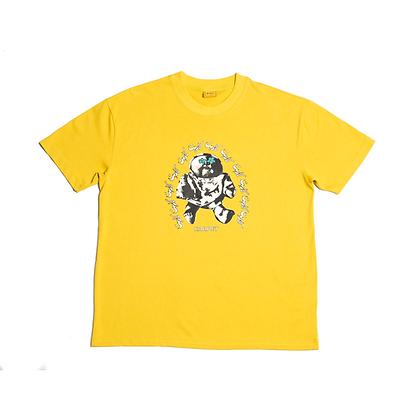 Hood Baby Tee Yellow