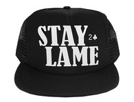Stay Lame Mesh Hat