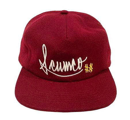 Baseball Caps Burgundy