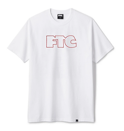 FTC OG OUTLINE TEE WHITE