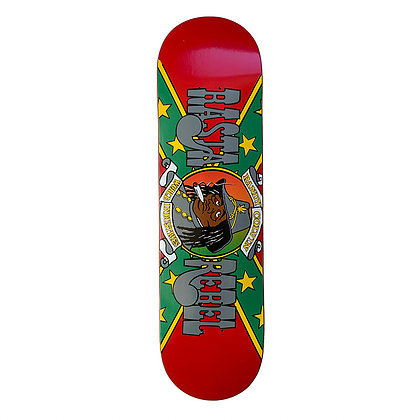 World Industries Randy Colvin Rasta Rebel POP Shape Hand Numbered