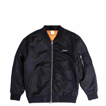 BOMBER - Jacket - Black