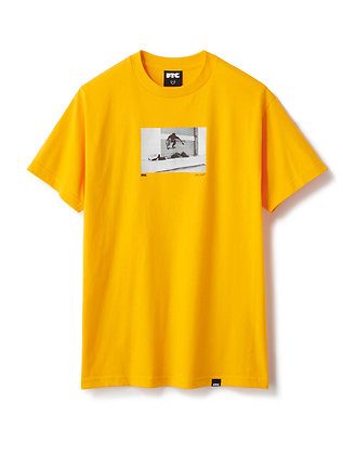 FTC JOVONTAE OLLIE PHOTO TEE BY BRYCE KANIGHTS Yellow