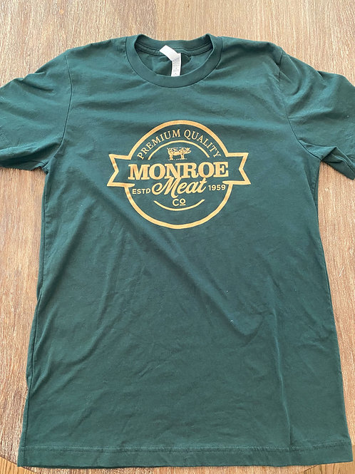 Forest Green and Tan Comfort T-Shirt