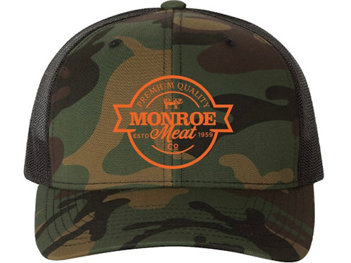 Camo and Black Mesh Back Hat