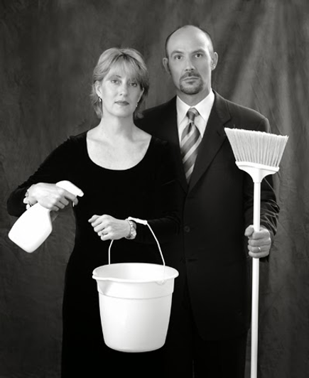Recent picture of founders of CUSTOM MAID SERVICE TORONTO, the original Toronto maid service