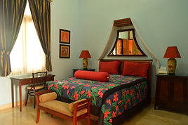 Guest Room 2 at this Jakarta Bed and Breakfast is extremely elegant.