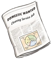 DOMESTIC WANTED Cleaning Service Job.