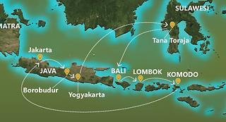 Borobudur-Yogyakarta-Toraja-Bali-Lombok-