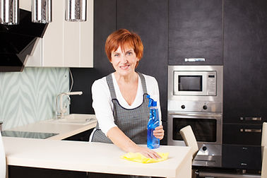Pic of Toronto cleaning lady from CUSTOM MAIDS HOUSE CLEANING SERVICES TORONTO
