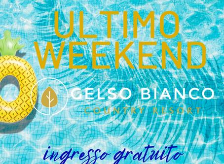 ULTIMO WEEKEND