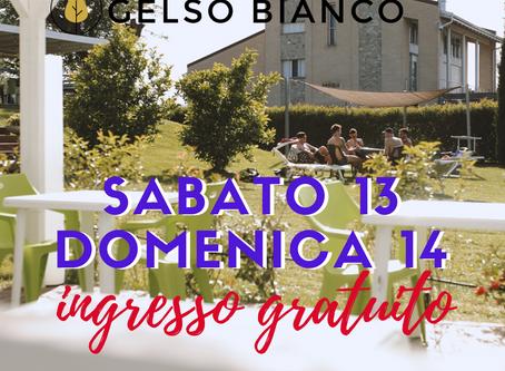 Sabato 13 e domenica 14 ingresso gratuito al GELSO BIANCO