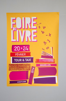 """""""Foire du Livre"""" Poster contest"""