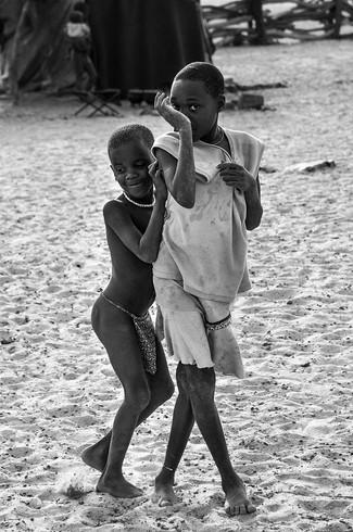 Namibian children, 2014
