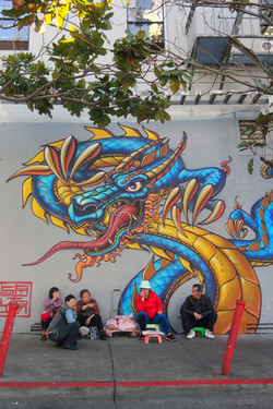 Street painting!