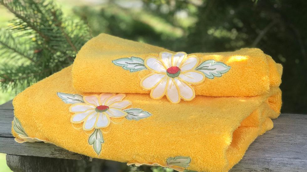 Coppia asciugamani Fiore