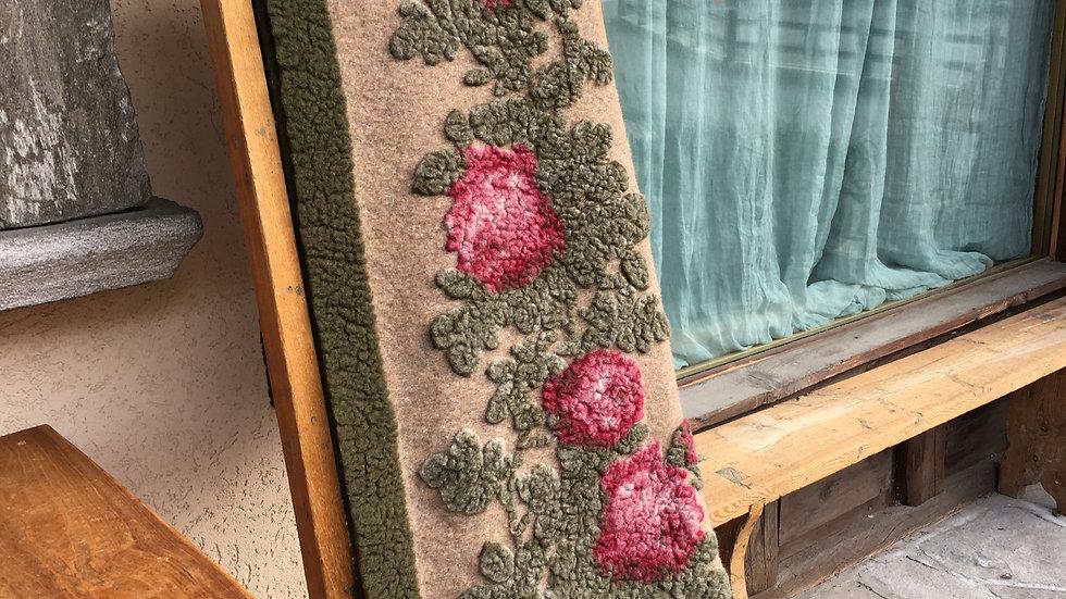 Plaid in lana cotta