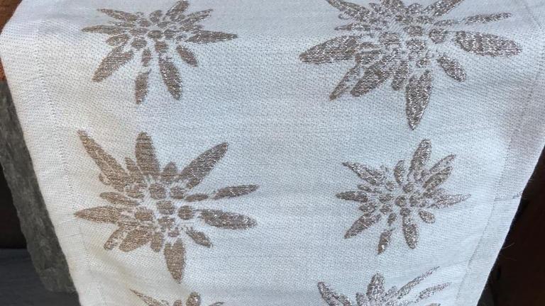 Striscia lino/cotone 40x150