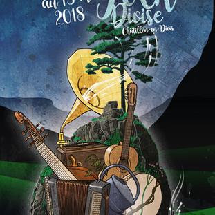 Affiche Nuit du Folk 2018