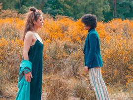 Lina Zaraket & Palesa Moloto by Shamila Lengsfeld