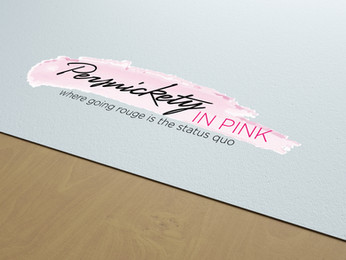 Persnickety in Pink Logo