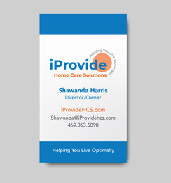 Home Care Business Card