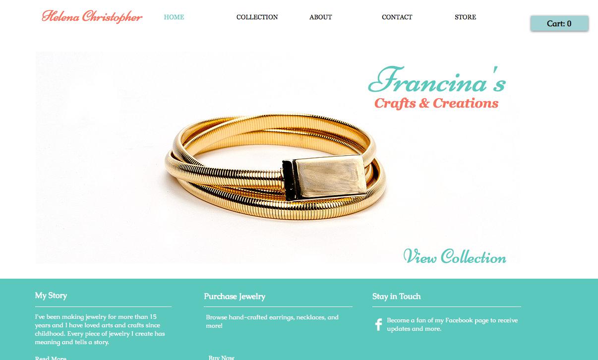 Artisan Website