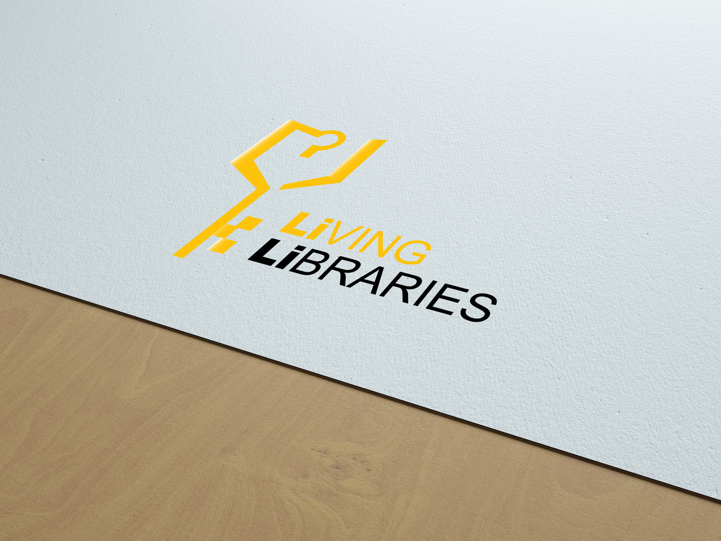 Living Libraries Logo