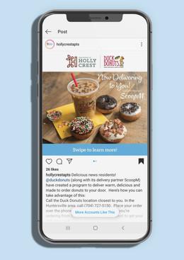 Duck Donuts Instagram Image