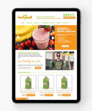 HealWell Website