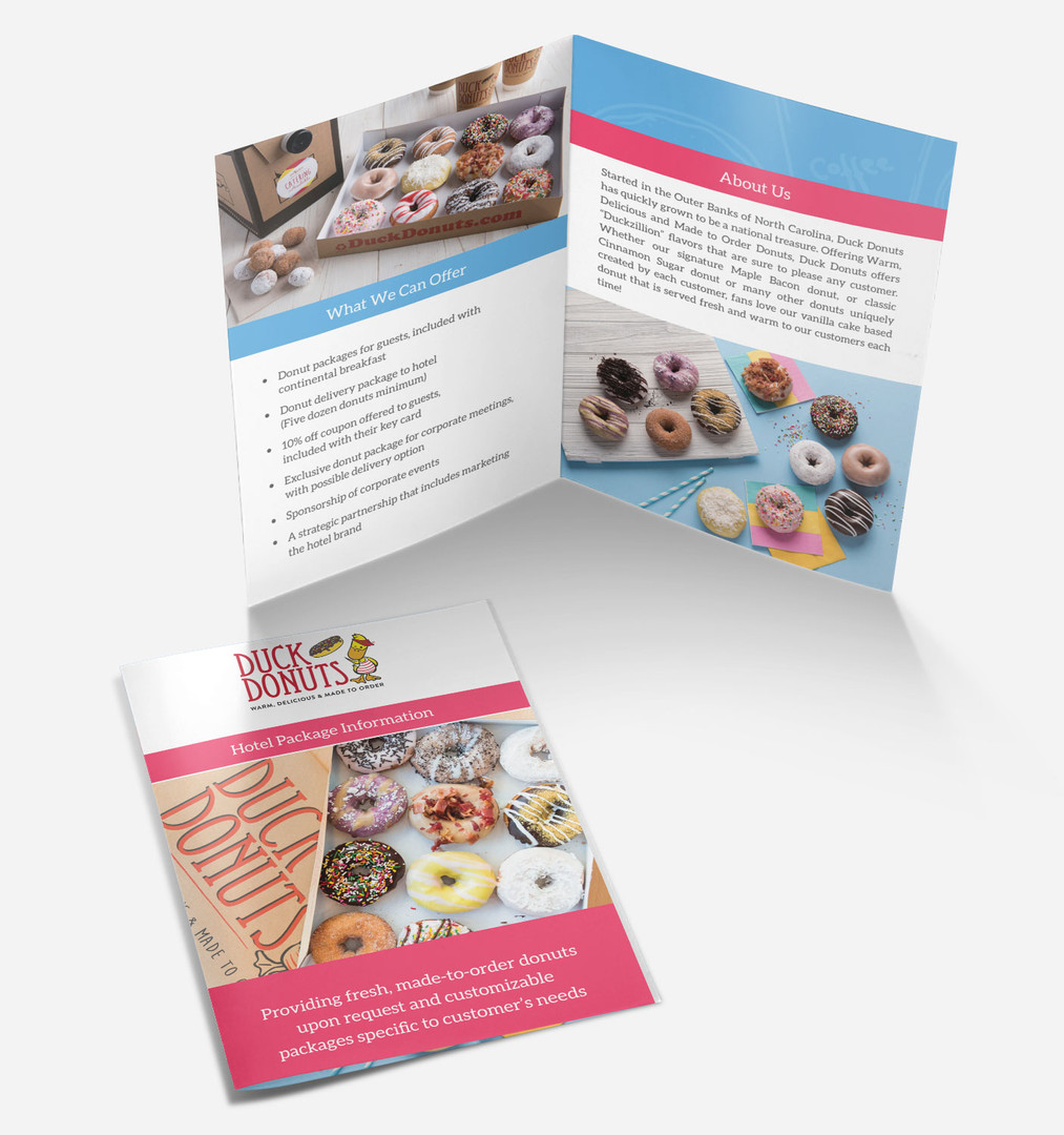Duck Donuts Brochure