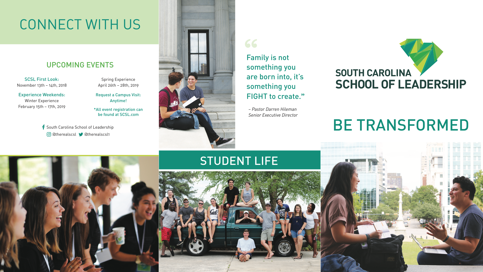 Higher Education Brochure