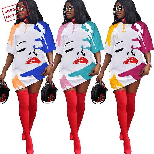 Monroe Printed Dress