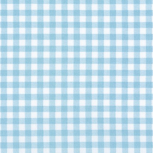 Anbo Gingham in blue/white