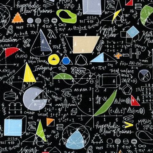 Timeless Treasures Physics fabric (0576)